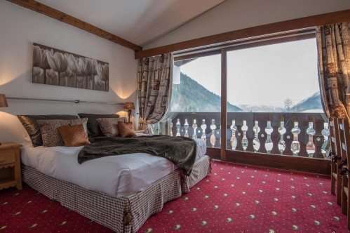 Classic Room Hotel les Grands Montets