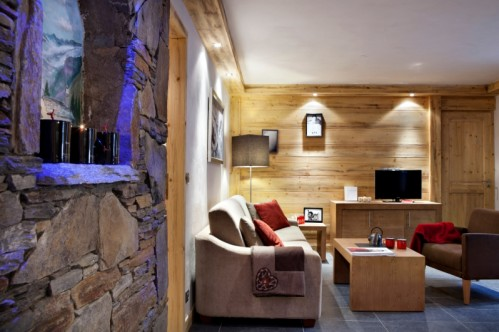 An impression of an apartment in Les Chalets d'Angele - Chatel - France