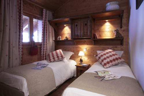 Twin Beds-Les Fermes de Meribel-Meribel-France