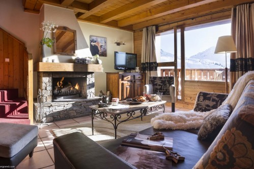 Four Bedroom Apartment - Residence Les Cimes - La Plagne - France; Copyright: Aline Perriad