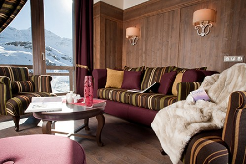 Two Bedroom Mezzanine Apartment - Le Hameau du Kashmir - Val Thorens - France