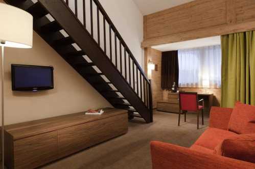 Hotel L'Aigle des Neiges - Junior suite; Copyright: F LAMBERT
