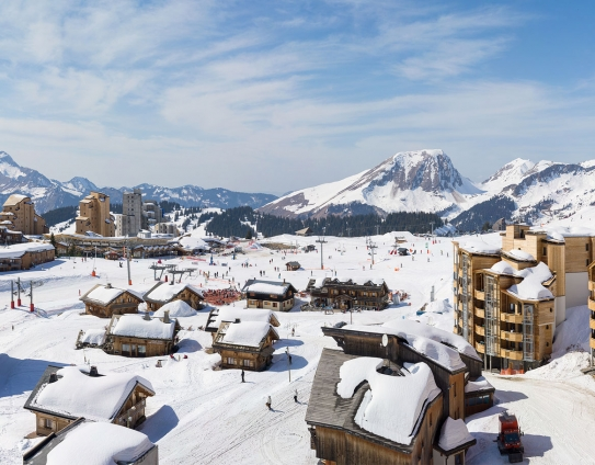 An impression of what Electra will look like in Avoriaz, France