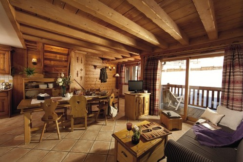 3 Bedroom Apartment - Kitchen/Dining Room - L'Ecrin des Neiges - Tignes