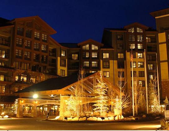 The exterior of the Grand Summit Hotel - The Canyons - USA