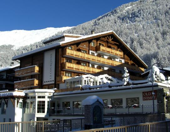 Outside - Hotel Couronne - Zermatt