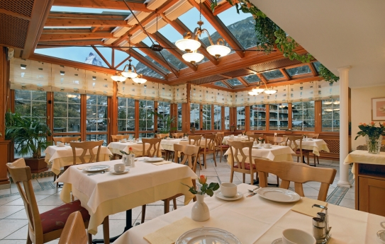 Winter Garden - Hotel Couronne - Zermatt
