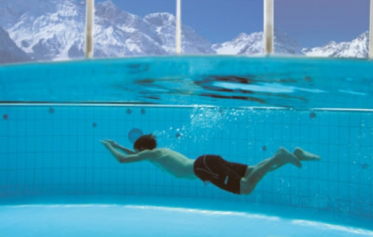 Swimming Pool - Hotel Waldegg - Engelberg