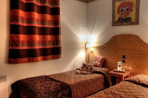 Twin beds Residence Village Montana Tignes