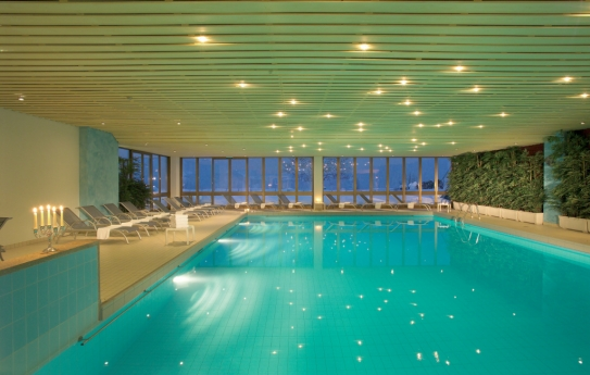 Swimming Pool - Hotel Sunstar - Grindelwald