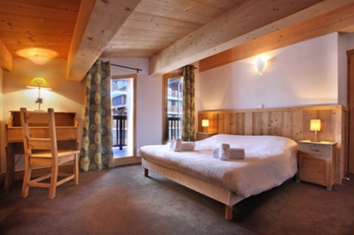 Double bedroom in Cime des Arcs