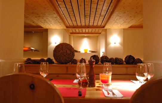 Guests can enjoy 5 fantastic restaurants at the Hotel Laudinella in St Moritz