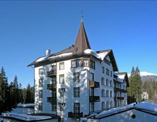 Outside the Sunstar Hotel Flims - Flims