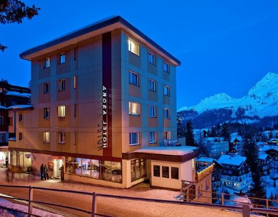 The exterior of the Sorell Hotel Asora - Arosa