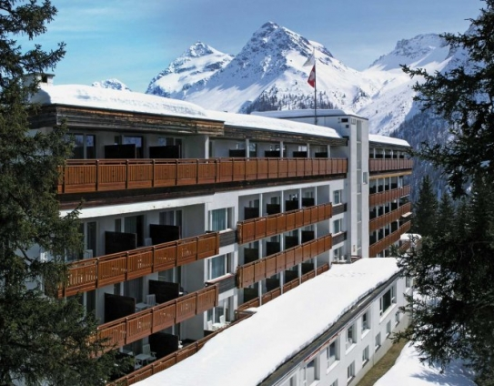 The Sunstar Parkhotel Arosa in Switzerland