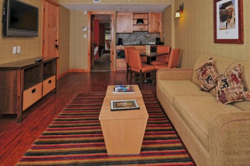 2 Bedroom Suite in the Fox Hotel & Suites - Banff