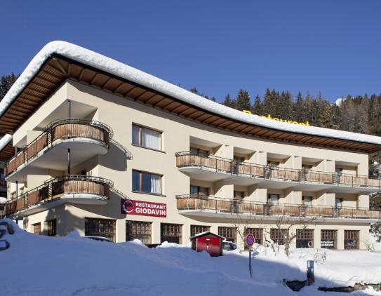 The Exterior of the Hotel Strela - Davos Platz