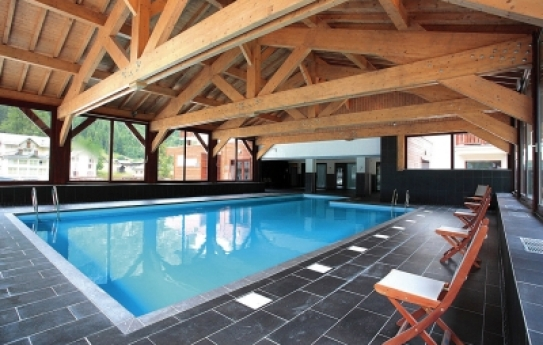 The Swimming Pool at the Residence Prestige Ours Bleu - Vallorcine
