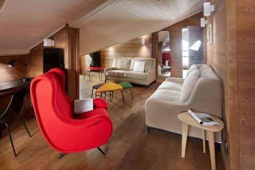 The suite at Hotel des Trois Valleés, Courchevel