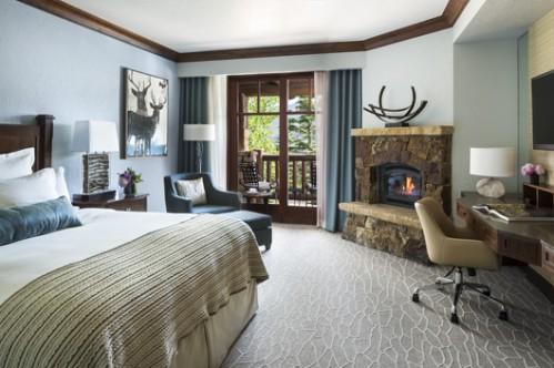 Resort view King room at the Bachelor Gulch - Beaver Creek