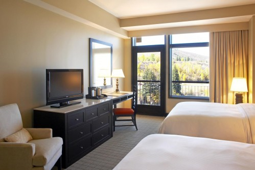Mountain View Room at the Westin Riverfront Resort & Spa - Beaver Creek