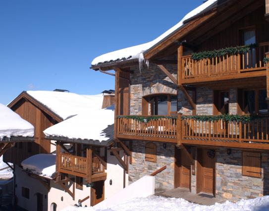 The exterior of Chalets de la Mouria - Courchevel 1650 - France; Copyright: Ph. Saharoff