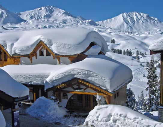 The Exterior - Residence Le Vallon - Belle Plagne - France