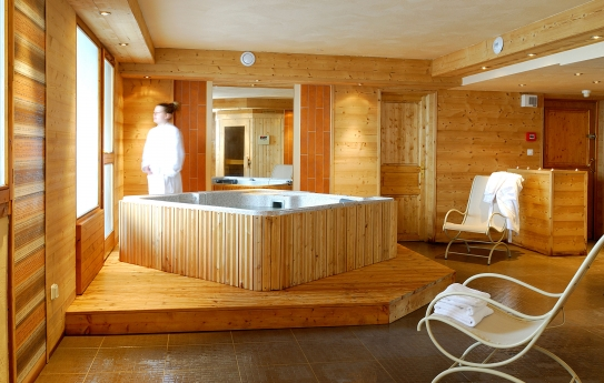 The Spa - Residence Le Vallon - Belle Plagne - La Plagne - France; Copyright: Aline Perrier