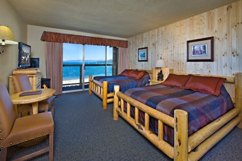 Lodge Queen Room at Tahoe Lakeshore Lodge & Spa - Lake Tahoe - Heavenly