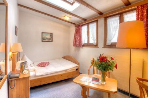 Single Room Comfort - Sunstar Boutique Hotel Beau-Site Saas-Fee - Switzerland