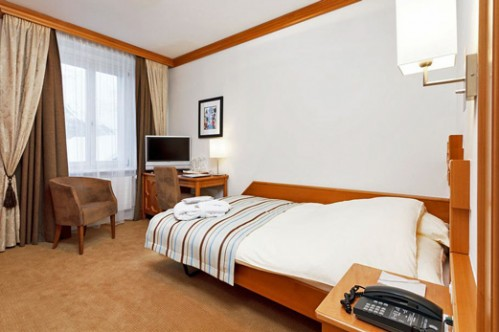 Single Room at Art Boutique Hotel Monopol - St. Moritz - Switzerland