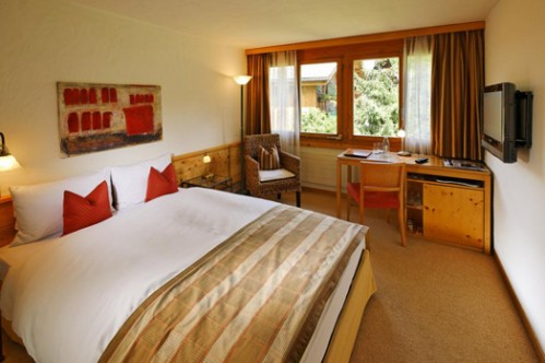 Single Bedded Room at Gstaaderhof Swiss Q Hotel - Gstaad - Switzerland