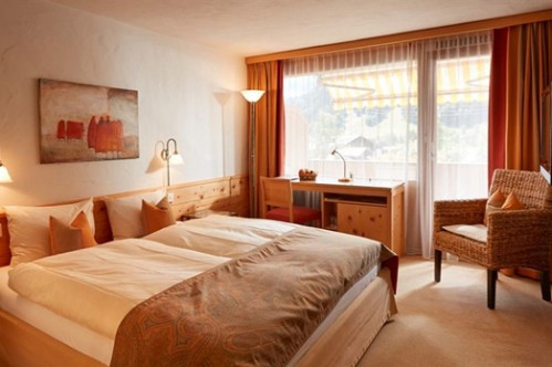 Standard Twin Room at Gstaaderhof Swiss Q Hotel - Gstaad - Switzerland