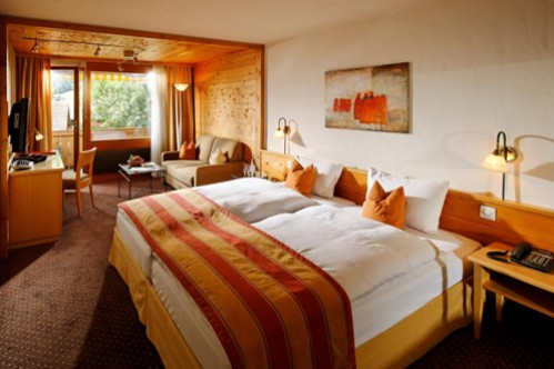 Superior Twin Room at Gstaaderhof Q Swiss Hotel - Gstaad - Switzerland