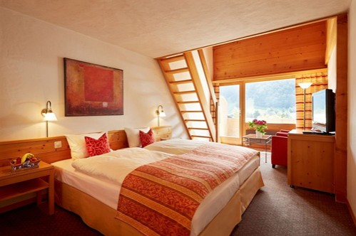 Family Room at the Gstaaderhof Swiss Q Hotel - Gstaad - Switzerland