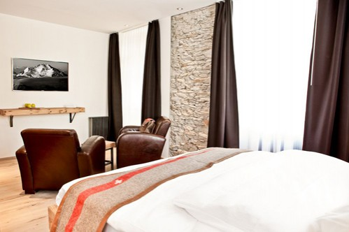 Double Deluxe Room - The Dom Hotel - Saas-Fee - Switzerland