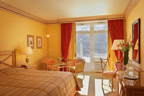 Twin Room Lake South - Kulm Hotel - St Moritz
