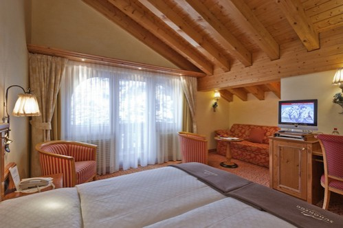 Triple Room at Chalet Hotel Schönegg - Zermatt - Switzerland