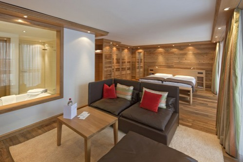 Quadruple Room at Chalet Hotel Schönegg - Zermatt - Switzerland