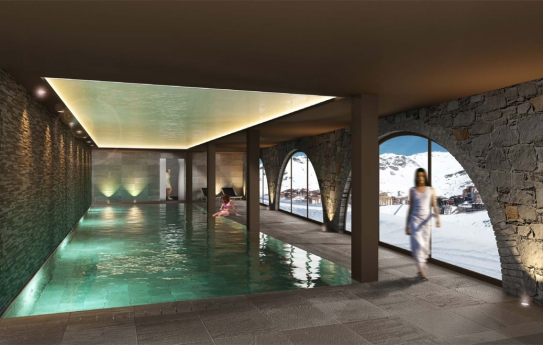 Hotel Val Thorens - Pool - Val Thorens