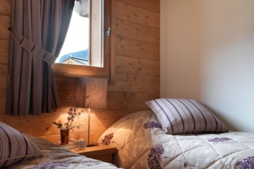 Bedroom, 1 bedroom apartment, L'Oree Des Neiges