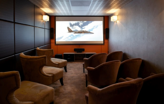 The Cinema at the Hotel l'Helios