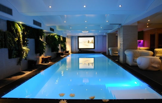 Swimming Pool - Hotel Le Brussels
