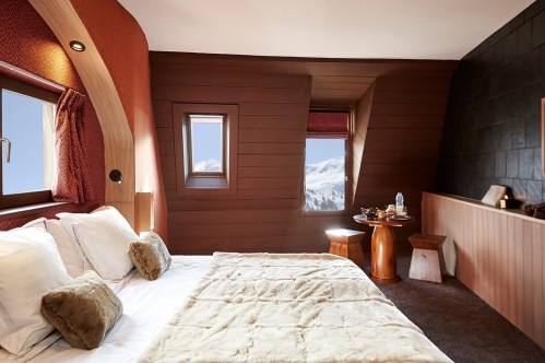 Hotel des Dromonts - Bedroom