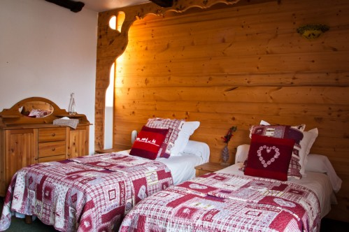 Hotel Les Ancolies - Courchevel - Bedroom