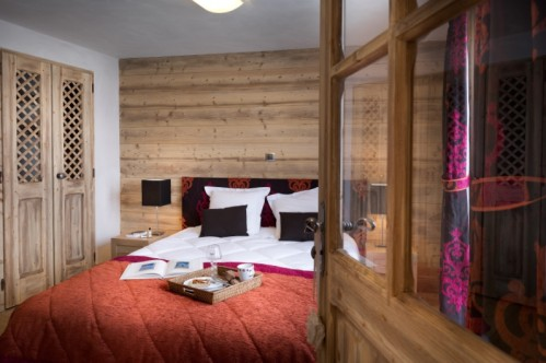 La Grange aux Fees-Valmorel-Double Bedroom