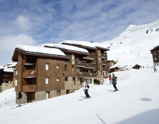 Ski Slopes and Accomodation - Beryl-Emeraude - Belle Plagne