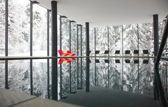 Spa and Fitness Facility at Chalet Belmont im Waldhaus Flims - Switzerland