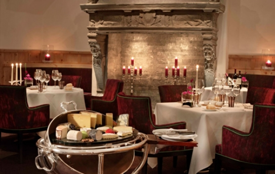 Restaurants at Kulm Hotel - St Moritz - Switzerland