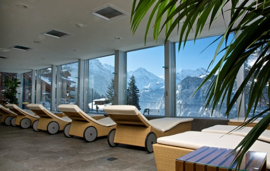 Spa at Hotel Silberhorn - Wengen - Switzerland